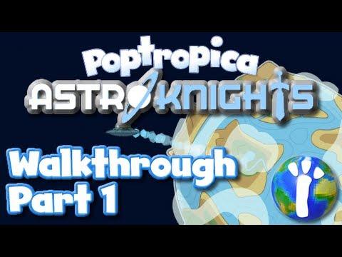 Poptropica Astro Knights Walkthrough Part 1