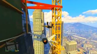 GTA V Unbelievable Crashes/Falls Funny Moments  - Episode 01