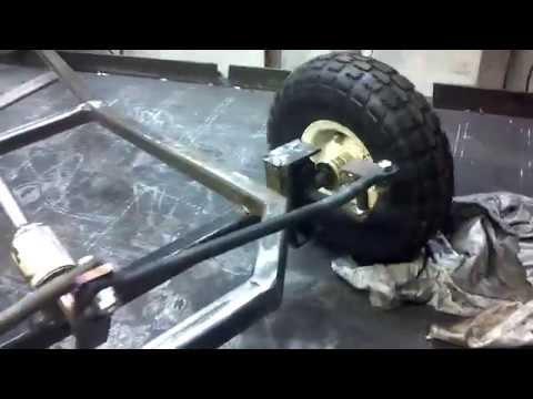 Custom Go Kart Project Steering