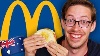 Keith Eats Everything At McDonald's Australia