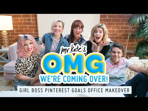 Pinterest Goals Office Makeover for Grace Helbig Hannah Hart and Mamrie Hart Mr. Kate
