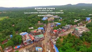 Koppam Town Sky view shoot anagha wedding studio Koppam Mob 8943300200