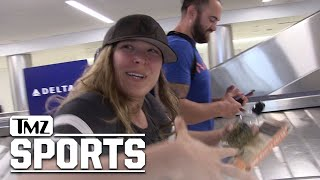 Ronda Rousey Teases WWE Future, UFC Husband Travis Browne Going Too?   TMZ Sports