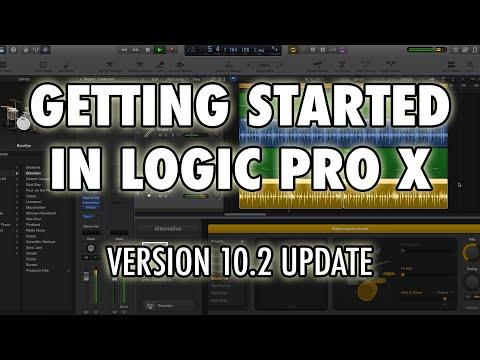 Logic Pro X - Getting Started in Logic X (10.2 Update)