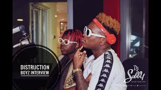 #TheBestLifeTV: Distruction Boyz Talk #GqomISTheFuture Album & WestInk Relationship!