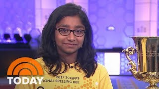 National Spelling Bee Winner Ananya Vinay Talks Her Final Word, Knowing She Had Won | TODAY