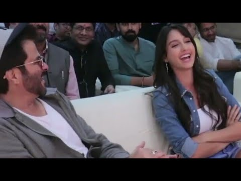 Xxx Mp4 NORA FATEHI AND ANIL KAPOOR AT A COLLEGE FEST 3gp Sex