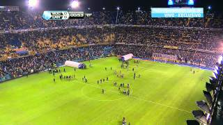 Fútbol en vivo. Boca - Lanús. Fecha 18. Torneo Final 2014. Fútbol Para Todos