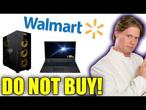 I Was WRONG. I Was SO WRONG. DO NOT BUY Walmart s Overpowered Gaming PCs