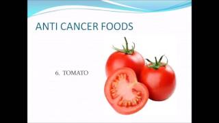 ANT CANCER FOODS