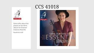 41018 Essentia - Dana Zemtsov with Estonian National Symphony Orchestra conducted by Daniel Raiskin