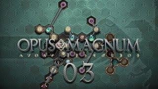 OPUS MAGNUM | STAMINA POTION #03 Amazing Alchemist Game - Let