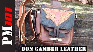 Don Gamber Leather Essentials Pouch  - Preparedmind101