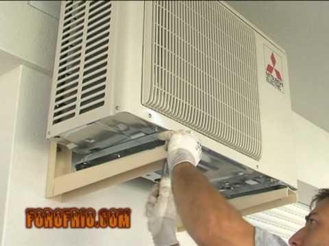 instalación de una unidad de climatización 1º parte .mpg