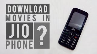 How to download movies in Jio Phone ?