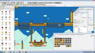 PGE [Super Mario Bros. X (SMBX)] - Speed Maker Showcase - Airship Attack 2 [Progress 3]