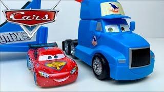 SUPER PISTA SALTO MORTAL DISNEY PIXAR CARS RAYO MCQUEEN DROP AND JUMP GRAY PLAYSET STORY SET