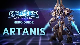 Artanis Ability Overview - Heroes of the Storm