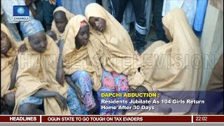 Dapchi Abduction Update: 104 Students Returned By Boko Haram