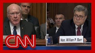 Leahy to Barr: Your answer was purposely misleading