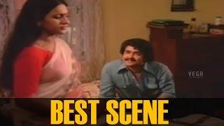 Seema and Mohanlal Best scene ||  Sandhyakku Virinja Poovu