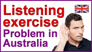 English listening exercise | Compréhension orale en anglais