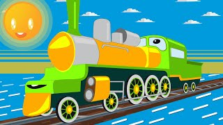 Learning Colors Video for Kids Train for Children Building Blocks Toys for Kids