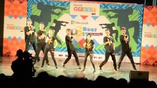 FAM.O.U.S CREW @ VFEST 2015 MUMBAI ZONALS
