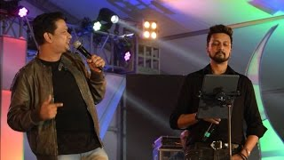 Kichcha Sudeepa and Vijay Prakash Live Performance at Global Academy of Technology