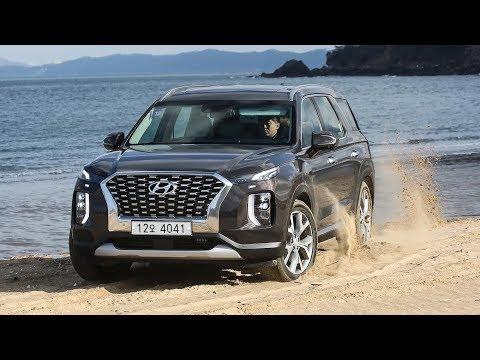 2020 Hyundai Palisade OFF ROAD test drive full three row SUV