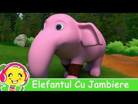 Elefantul Cu Jambiere Cantece Pentru Copii