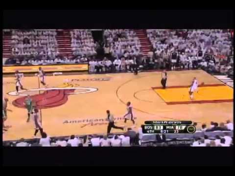 Delonte West dunks in transition! Lands on Chris Bosh Miami Heat vs. Boston Celtics Game 5