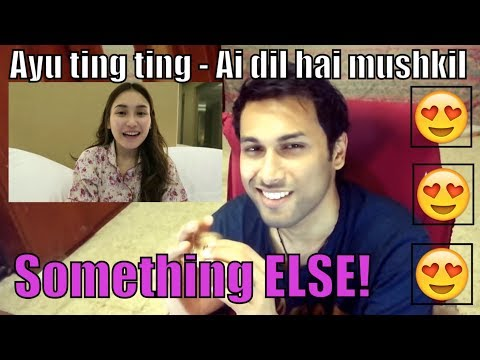 Ayu Ting Ting - Ai Dil Hai Mushkil | Reaction