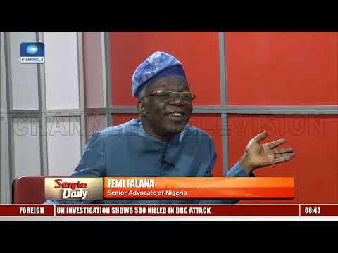 2019 General Elections 'An Expensive Joke' – Falana Sunrise Daily