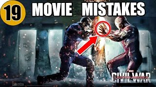 19 Mistakes of CAPTAIN AMERICA: CIVIL WAR You Didn't Notice