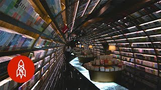 Bookworm Paradise: Kick Back in China's Infinite Reading Space