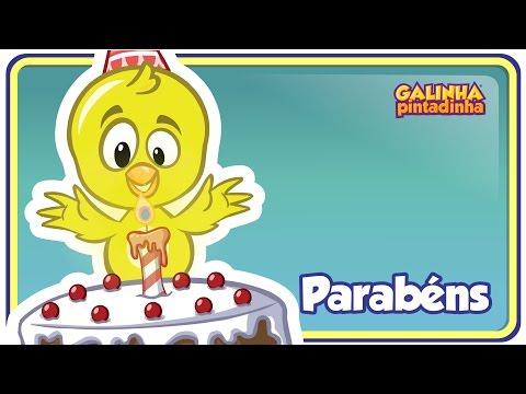 PARABÉNS DA GALINHA PINTADINHA DVD Galinha Pintadinha 4 OFICIAL