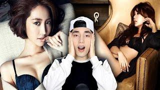 Top Ten SEXIEST Korean Female Celebrities Reaction