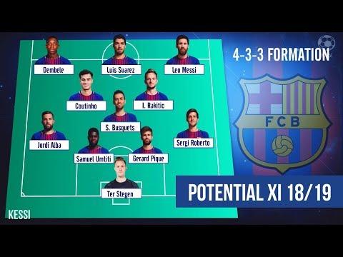 Xxx Mp4 FC Barcelona ● Potential Line Ups 2018 2019 Ft Arthur Lenglet Coutinho Messi 3gp Sex