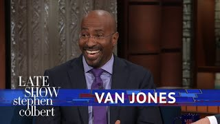 Van Jones Is A 'No' For The White House Christmas Party