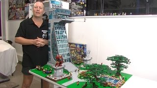Lego Avengers Tower MOC Full Layout Complete
