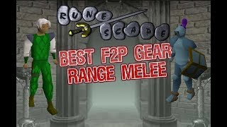 RuneScape best F2P gear for range and Melee