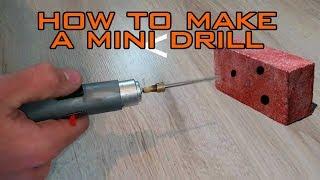 Make High Speed mini Drill-life hack