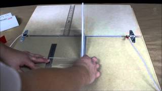 Nichrome wire acrylic bending table