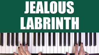 HOW TO PLAY: JEALOUS - LABRINTH