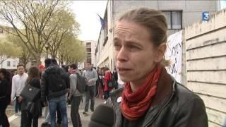 Grève au lycée Doisneau de Vaulx-en-Velin