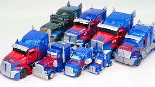 Transformers 5 The Last Knight Optimus Prime 8 Truck Vehicle Car Robot Toys