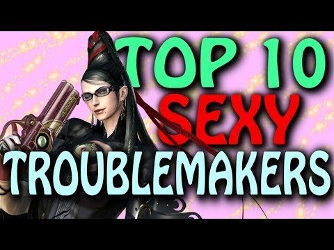 Xxx Mp4 Top 10 Sexy Video Game Troublemakers For You To Date 3gp Sex