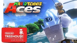 Mario Tennis Aces Gameplay Pt. 3 - Nintendo Treehouse: Live   E3 2018