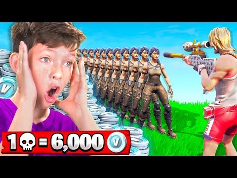Xxx Mp4 1 Elimination 6 000 Free V Bucks With My Little Brother Fortnite Battle Royale 3gp Sex